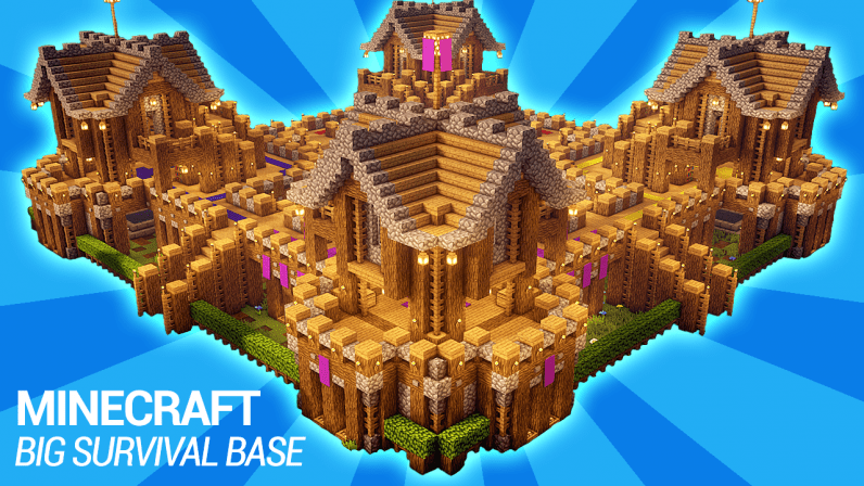 How to build a survival base in Minecraft
