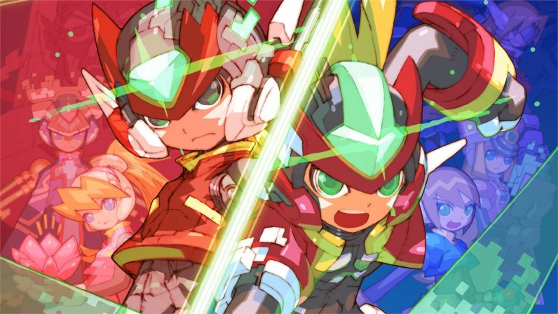 Hell yeah! The Mega Man Zero collection is out this month
