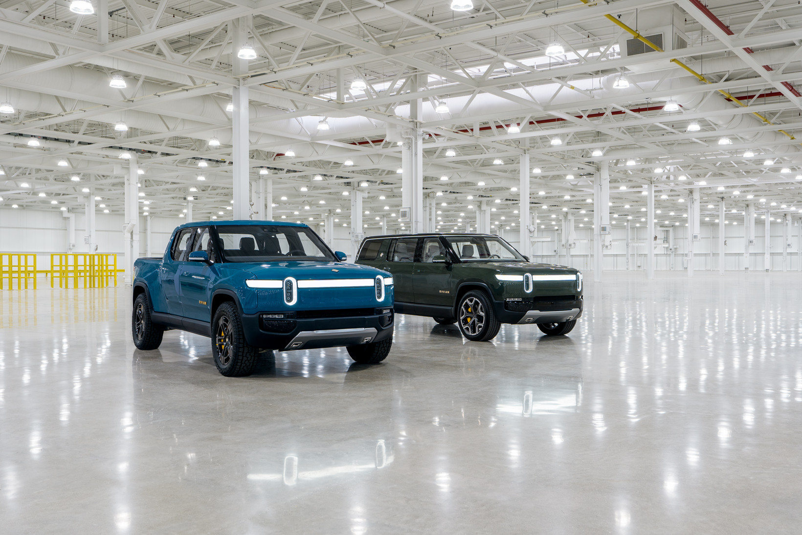 Rivian, cars, evs, tesla, amazon
