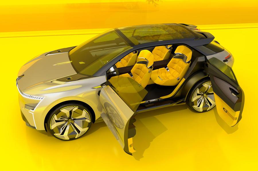 Renault, Morphoz, EV, suicide doors, side