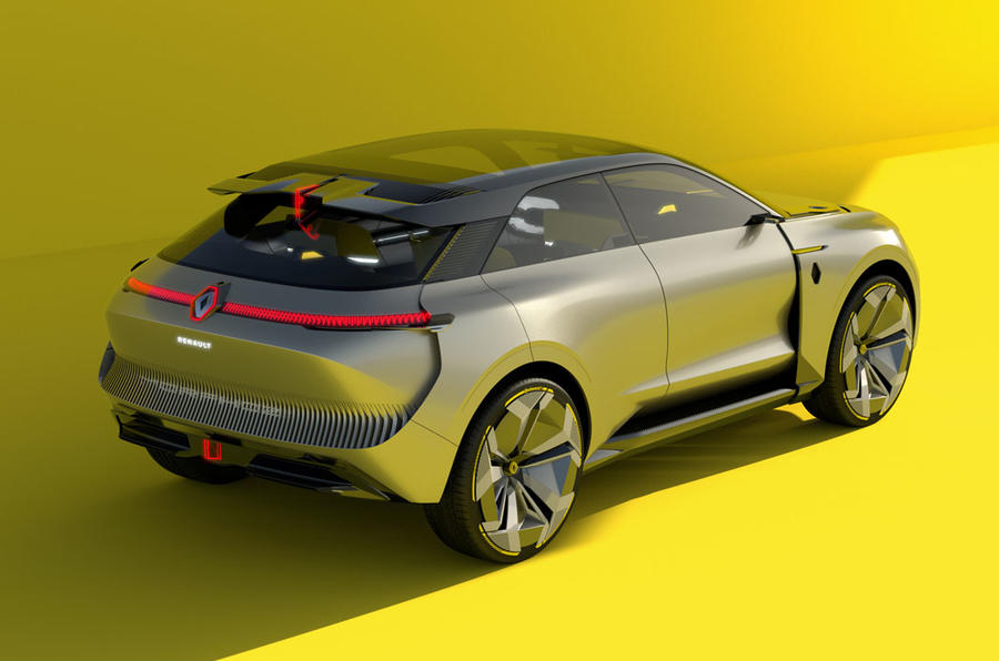 Renault, Morphoz, rear, picture, concept, car