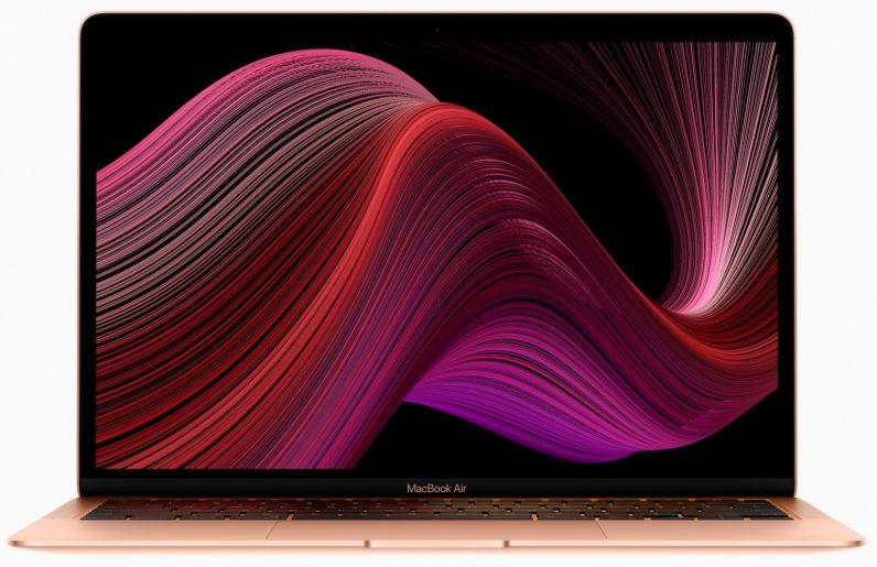 Apple's new MacBook Air wallpaper