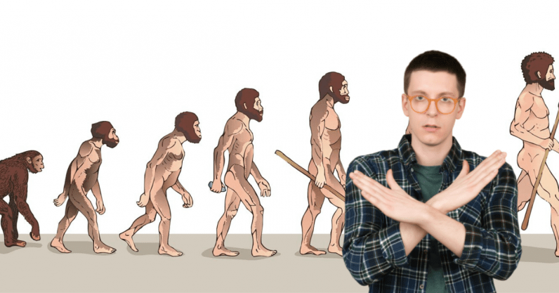 Researchers explain why that picture of monkeys turning into humans is wrong