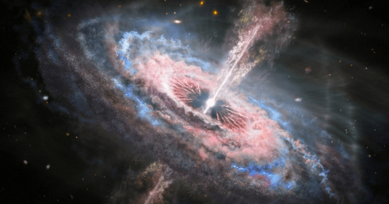 Hubble telescope discovers Galaxy-ripping quasar tsunamis in space