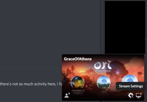 Discord Go Live Stream Preview