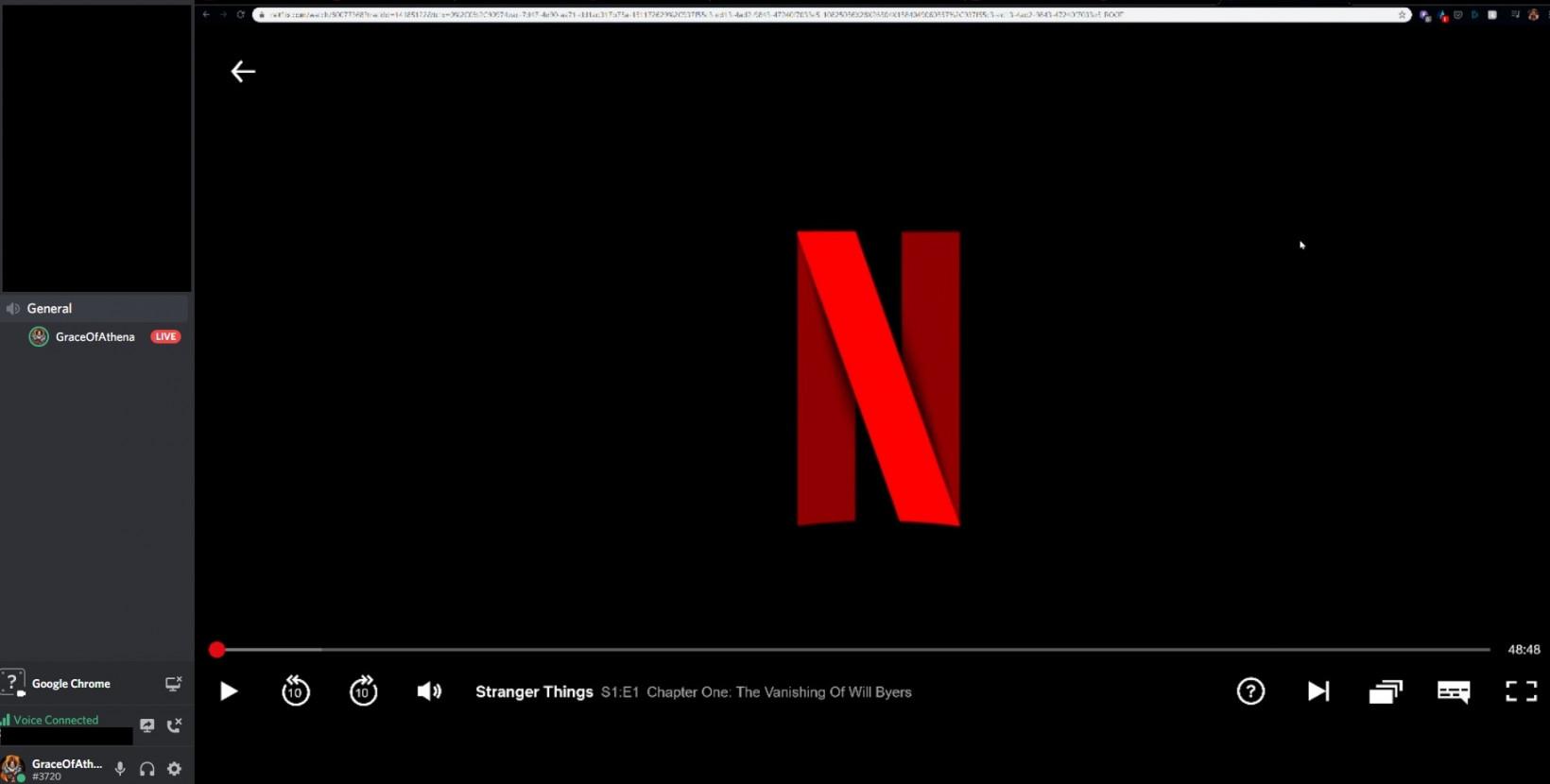 Discord Go Live Netflix
