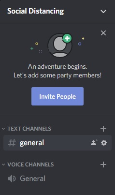 Discord Server Channels