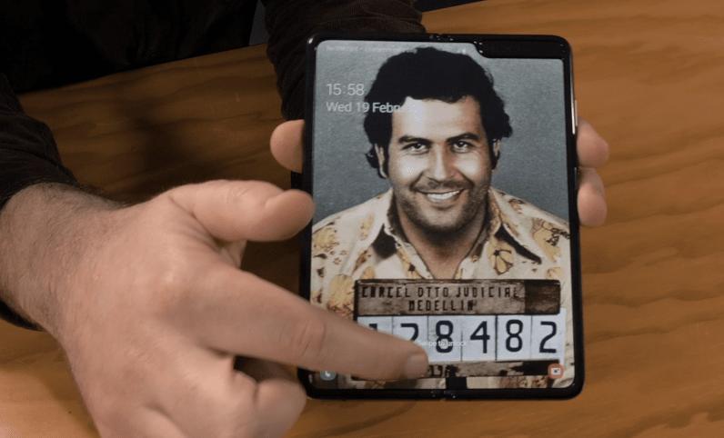 Escobar Fold 2 open