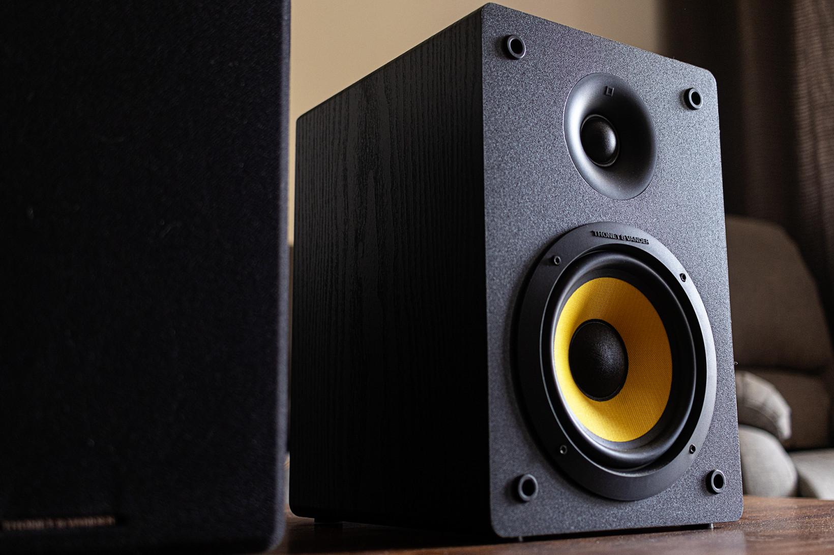 Thonet & Vander's Kubris speakers are a handsome, discreet pair