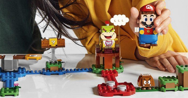 LEGO Super Mario set revealed