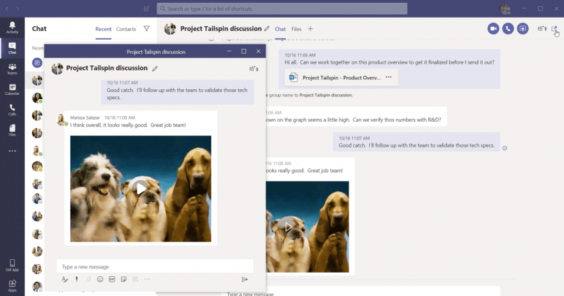 Microsoft Teams can now suppress background noise during video calls