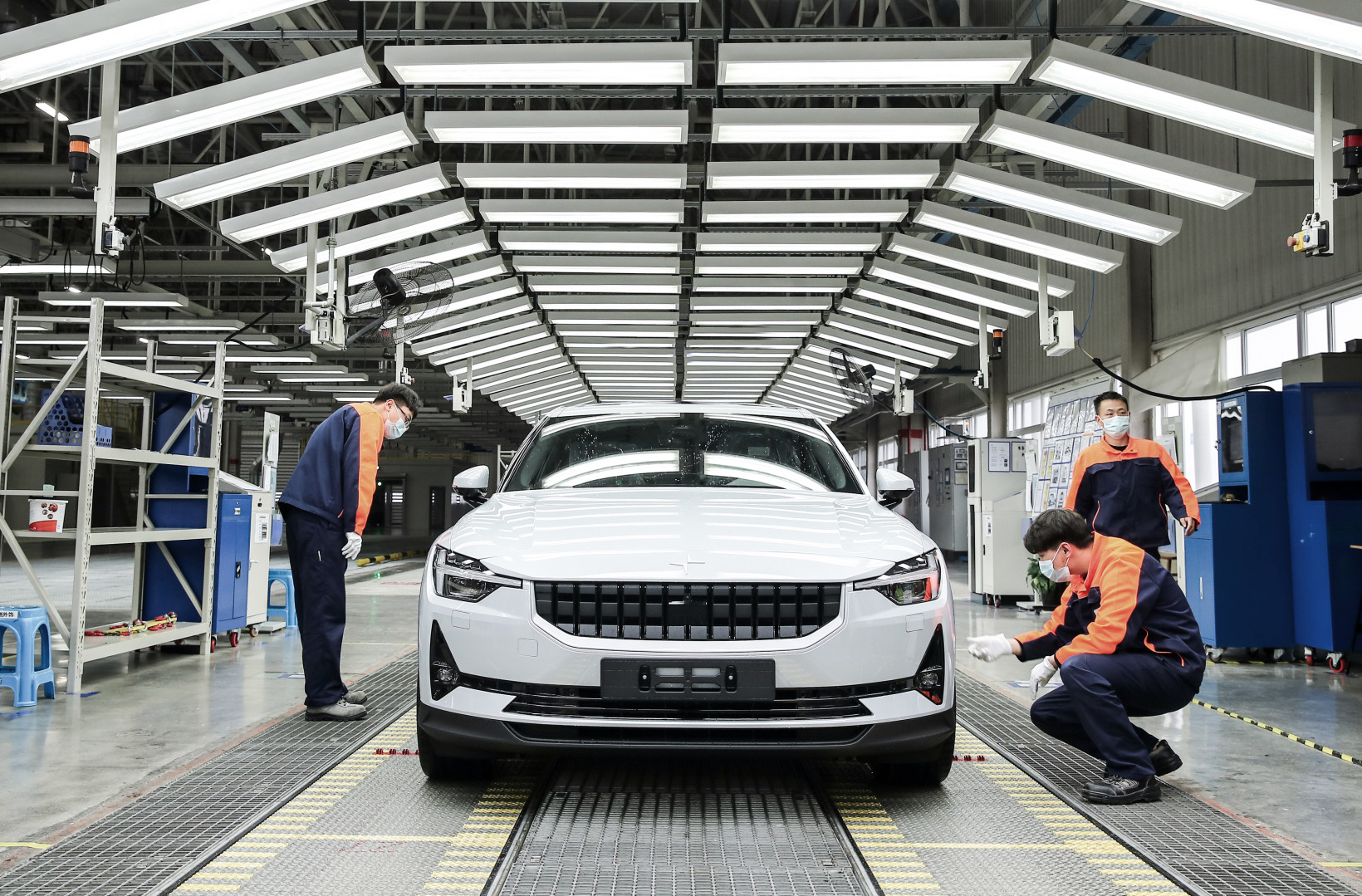 Polestar 2, production, china, geely, production