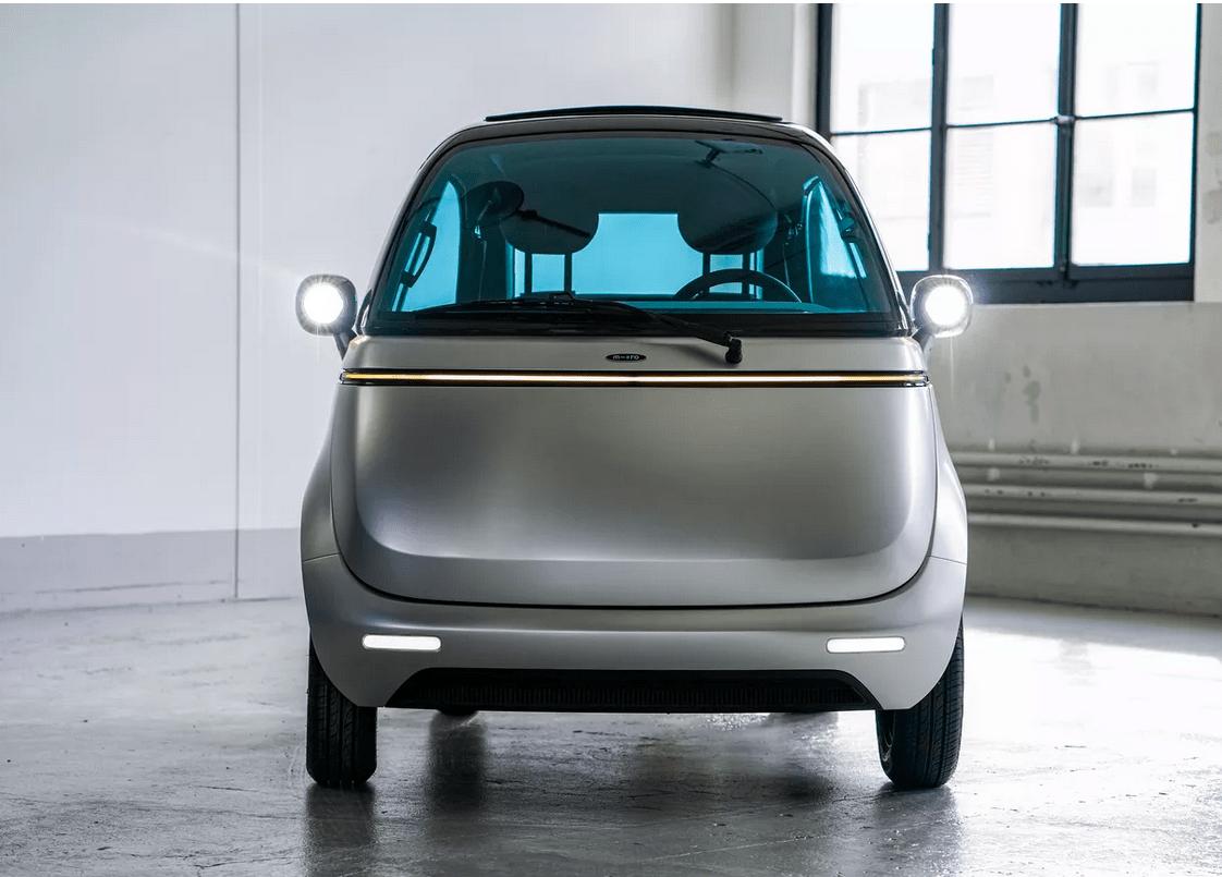 Microlino, 2.0, BMW, Isetta, EV, car, charging