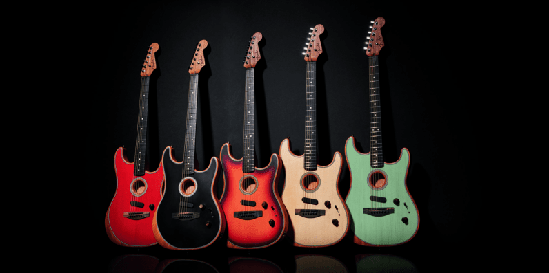 Fender's new Acoustasonic Stratocaster is the guitar for people who want it both ways