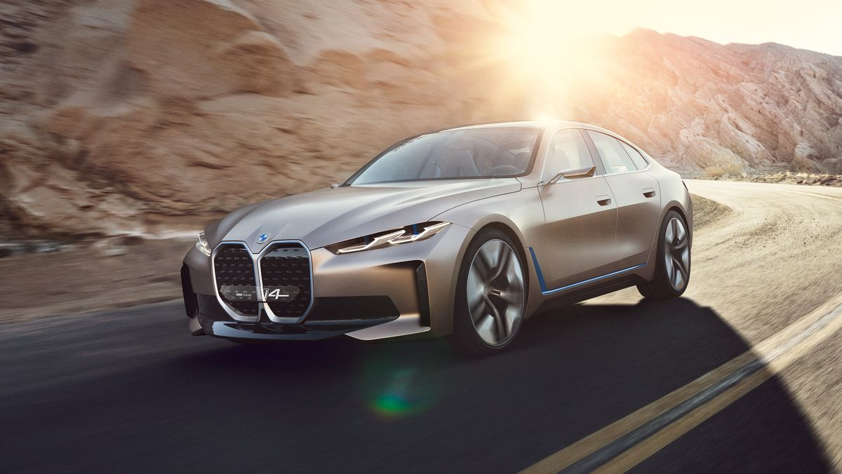 EV, BMW, i4, tesla