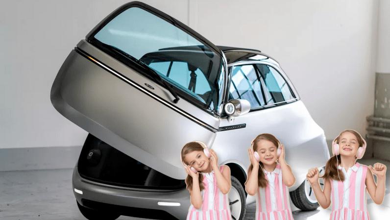 bubble car, isetta, bmw, microlino, microletta, ev, car, new, announced