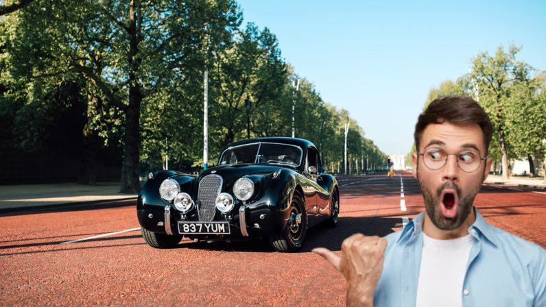 lunaz, xk120, ev, classic, car, conversion, jaguar, electric, car, power, future