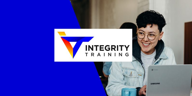 Even in isolation, your time is valuable. Integrity Training can help you take full advantage of those hours. - the next web