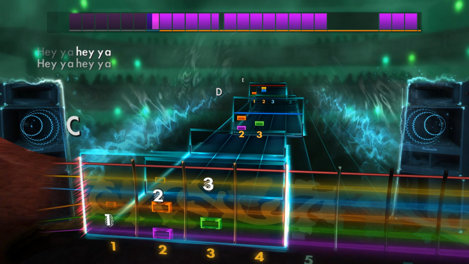 Rocksmith, guitar heo, interface