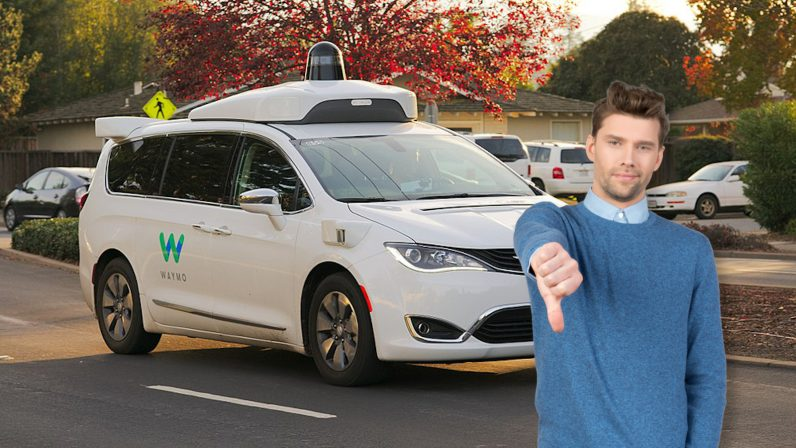 waymo, self-driving, america, sad, concerned, worried, don't like, aaa, survey