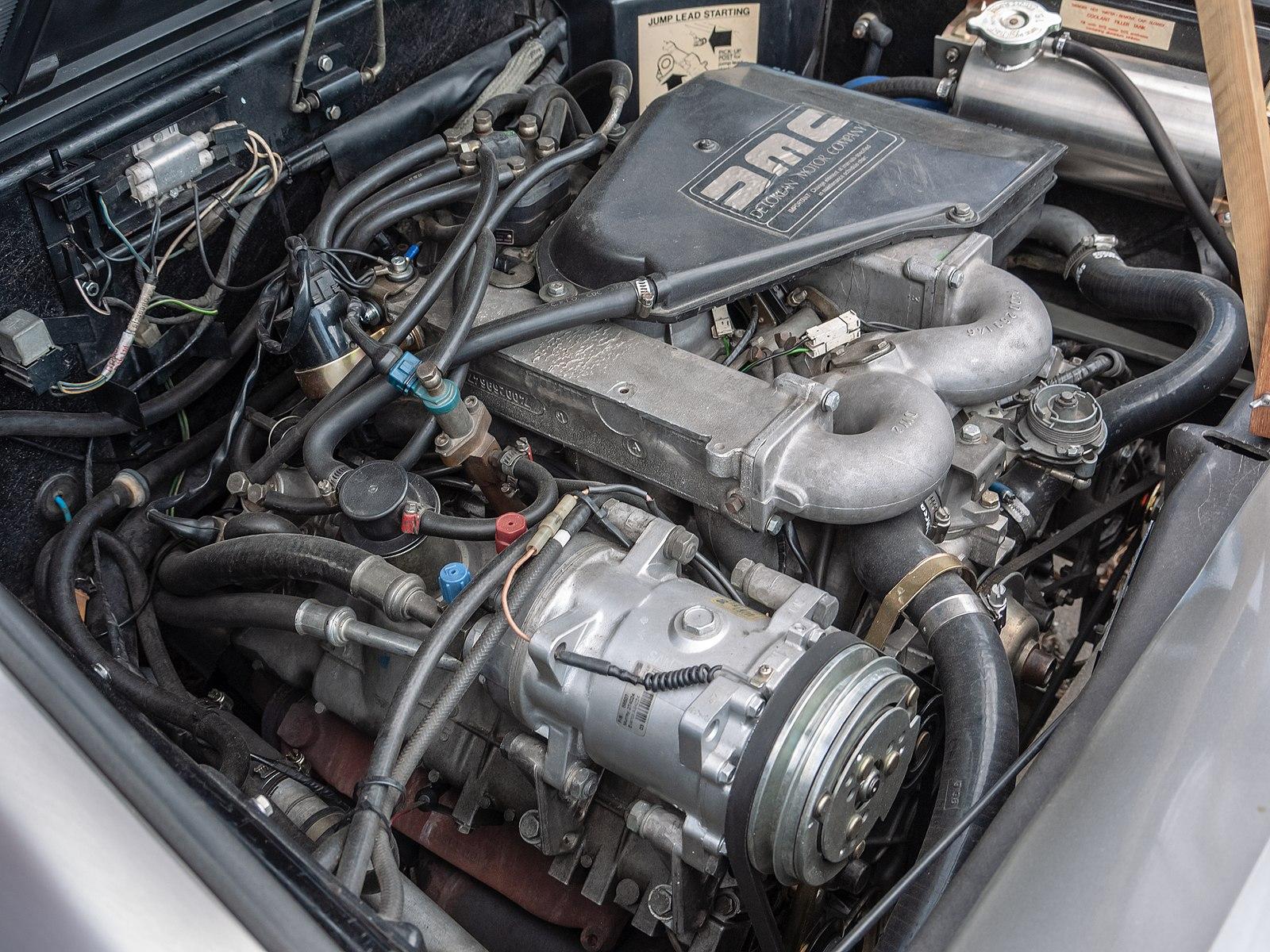 DeLorean, engine, car, future