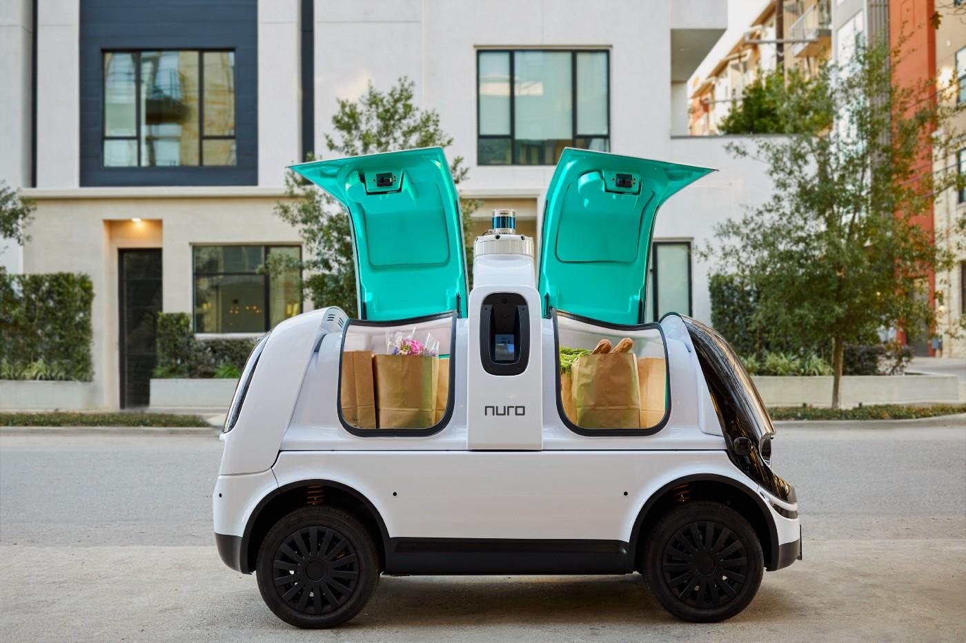 nuro, delivery, vehicle, r2, autonomous