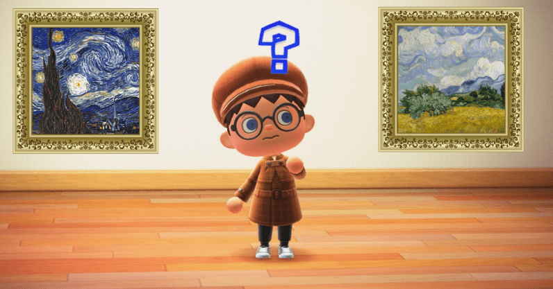 How to decorate your Animal Crossing home with Van Gogh paintings