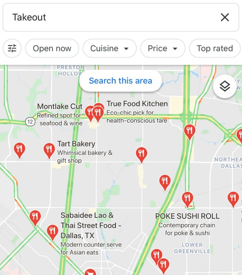 How To Use Google Maps New Takeout And Delivery Shortcuts