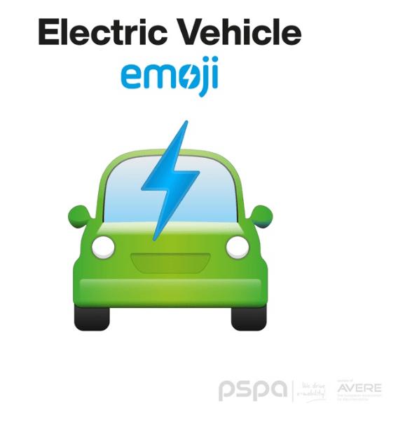 pspa, ev, car, ev, emoji