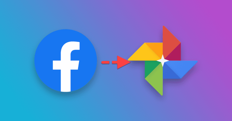 Facebook Google Photos