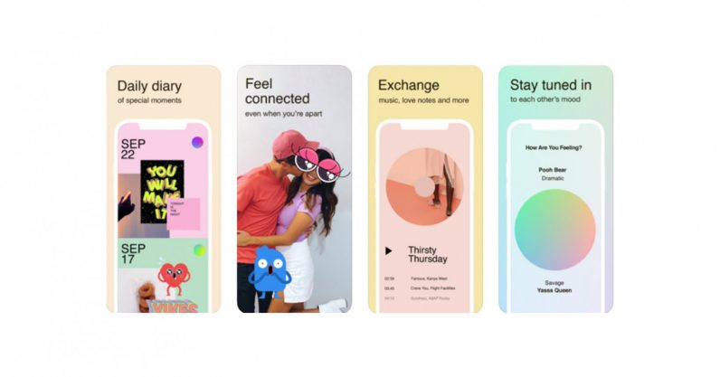 Facebook launches Tuned, a scrapbook messaging app just for couples (with iPhones)