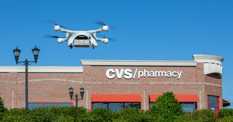 UPS drones will take prescriptions from CVS pharmacies to a retirement community in Florida