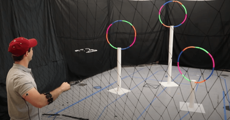 MIT's new wearable lets you control drones with Jedi-like arm gestures