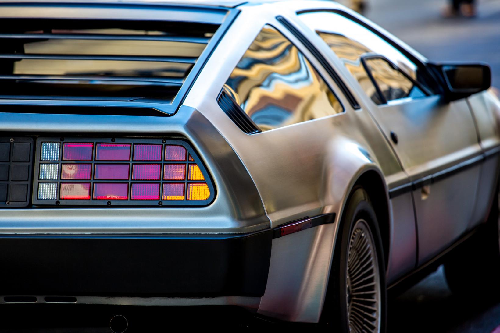 Delorean, car, future, back to the future