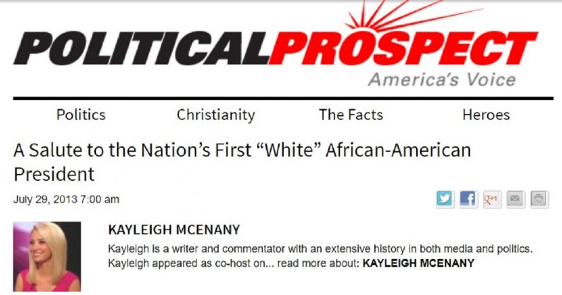 New US Press Secretary Kayleigh McEnany ran a racist, right-wing conspiracy blog