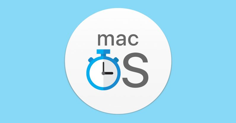 mac, macos, shutdown, timer, apple