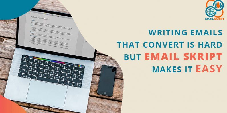 Who needs a copywriter? Email Skript writes all your marketing emails for you.