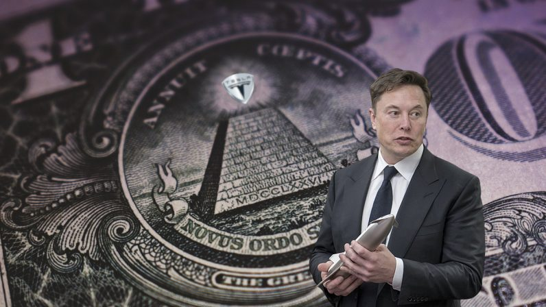 Tesla crashed and bounced harder than any other tech stock this week