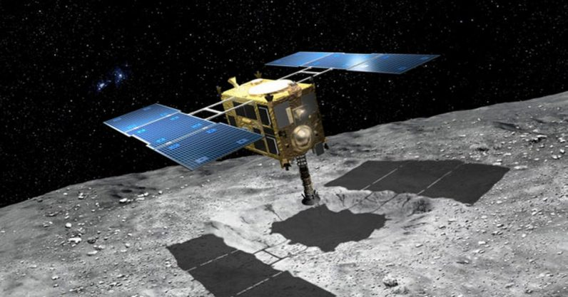 A Japanese spacecraft sent back images of the rocky asteroid 'Ryugu' — and they're ...
