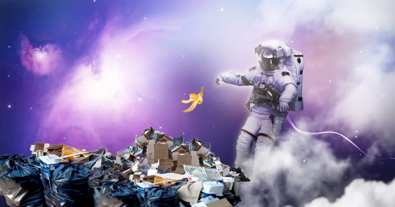Space is full of junk because private companies keep launching satellites