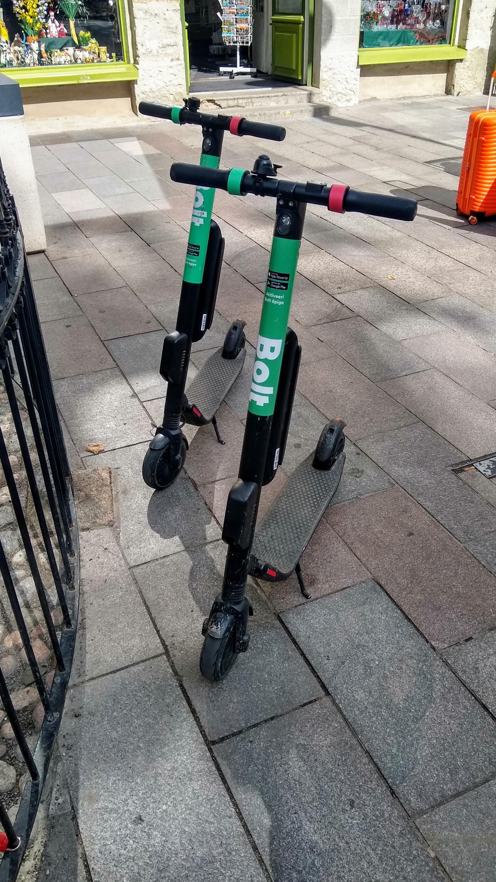 estonia, bolt, scooter, e-scooter, regulations, laws
