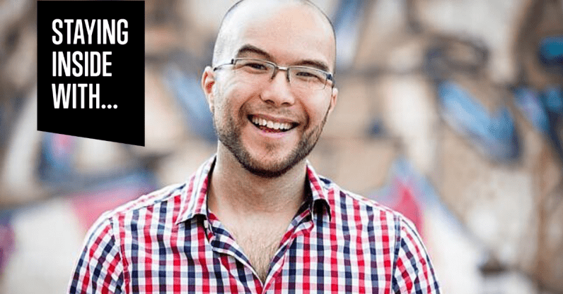 Canva's co-founder shares what's been keeping him busy during lockdown