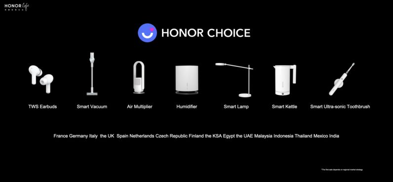 HONOR Choice smart products