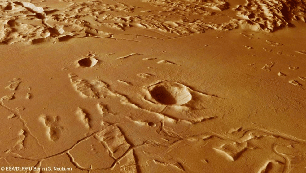 Study: Volcanoes on Mars were to blame for massive mud flows, not lava 3