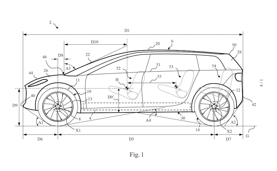 dyson, car, patent image