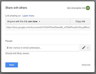 google docs sharing old interface