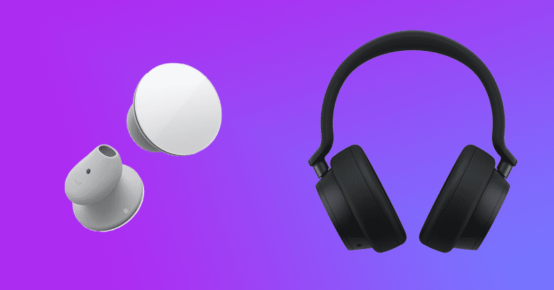 Microsoft launches its Surface Earbuds and Surface Headphones 2