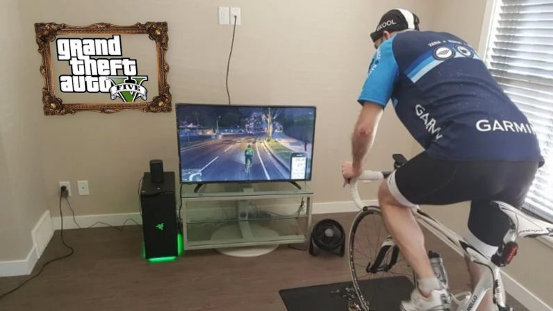new, zwift, gta v, mod, btbikev, makinolo, tacx, indoor, cycling, training, bicycle, gaming