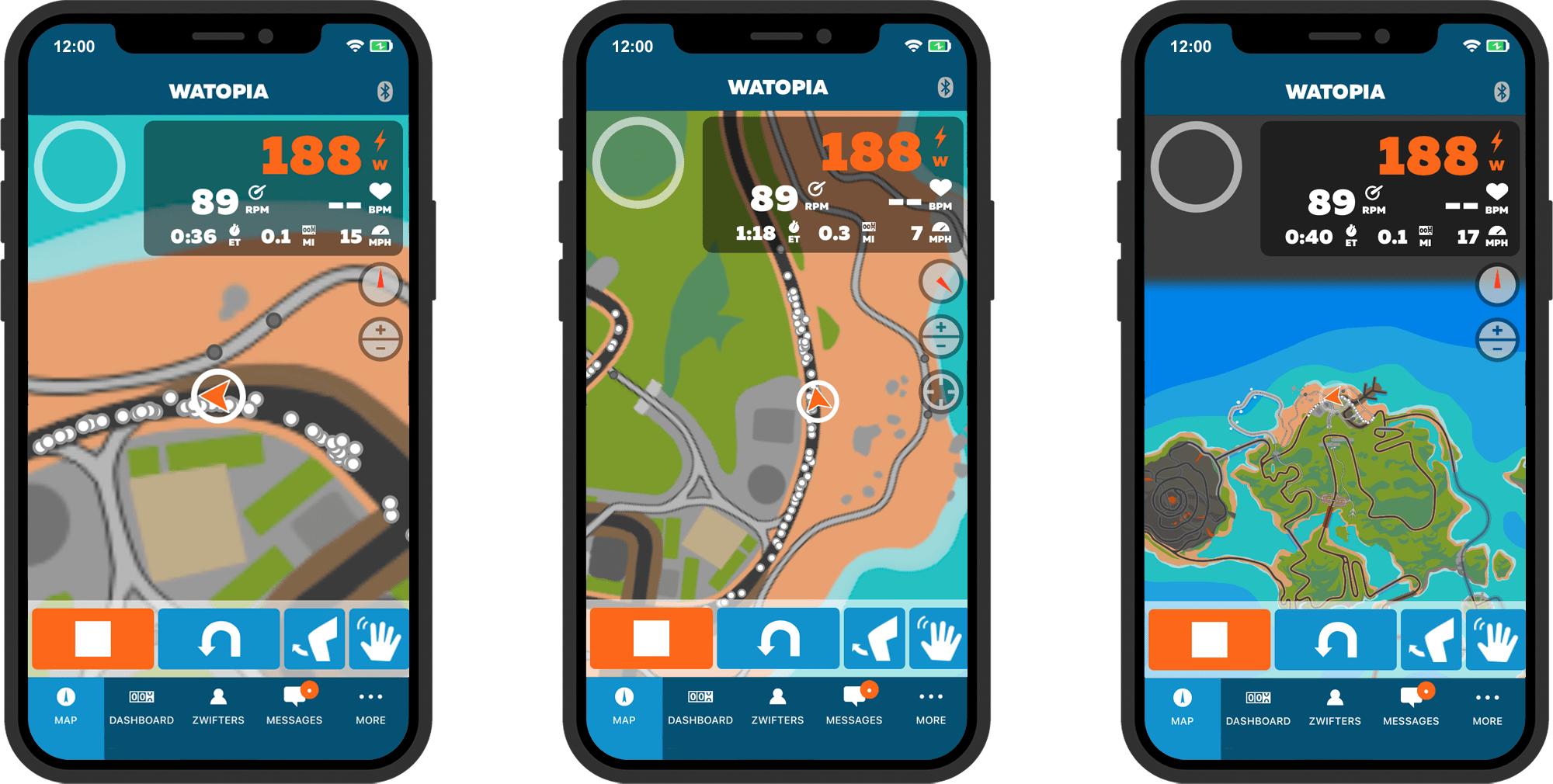 Zwift, companion app, kudos, tacx, training