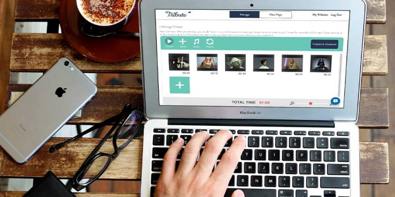 Assemble the perfect video montage for your loved one — and let Tribute do all the work